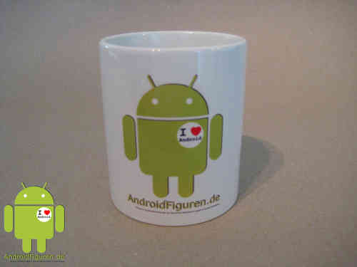 Android Tasse I love Android