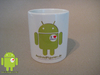 Android mug I love Android