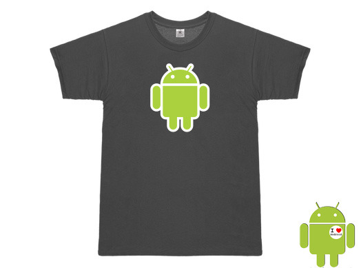 T-Shirt 3dsupply Gray Robot