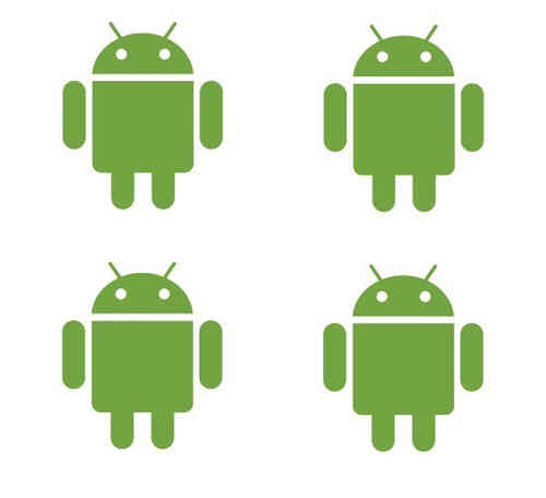 AndroidStickers.com mini Android Decal Pack
