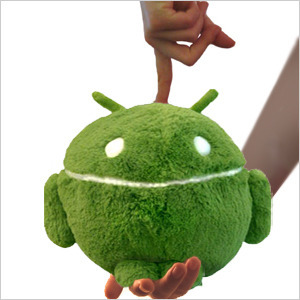 Squishable mini Android Plüschtier