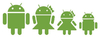 AndroidStickers.com Android Family