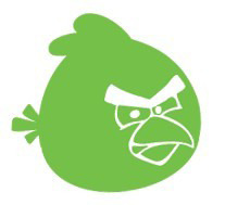 AndroidStickers.com Angry Birds mini