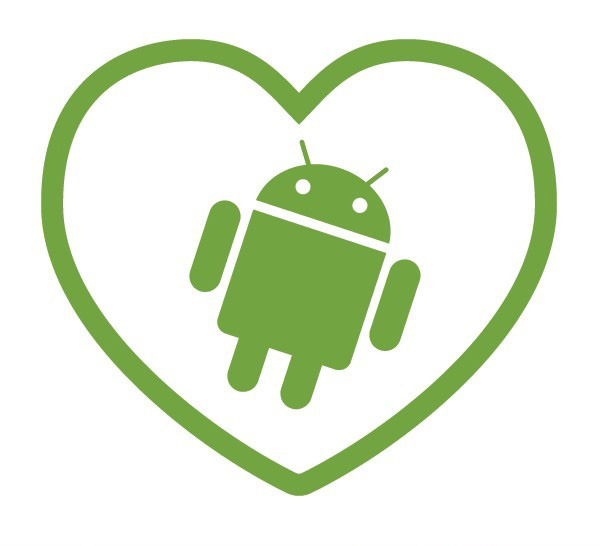 AndroidStickers.com I Heart Android
