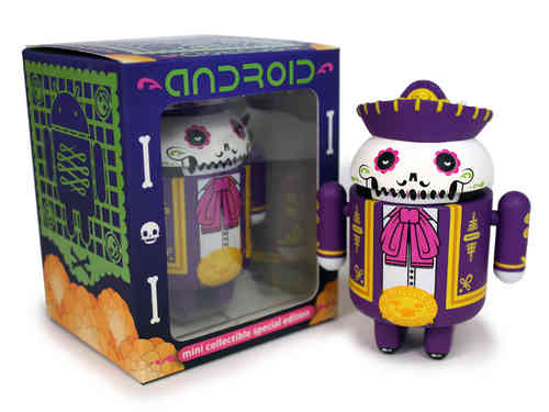 Andrew Bell Android Mini Collectible Special Halloween Edition