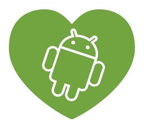 AndroidStickers.com In Love With Android
