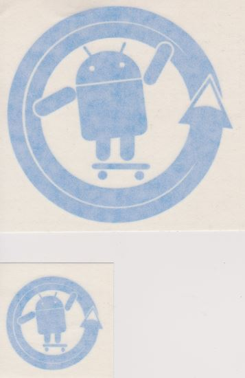 AndroidStickers.com Android Cyanogenmod