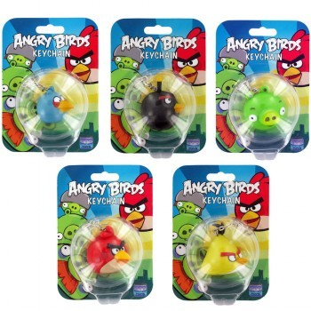Angry Birds Key Chain