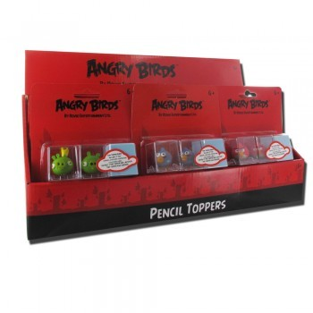 Angry Birds Pencil Toppers 3er Blister