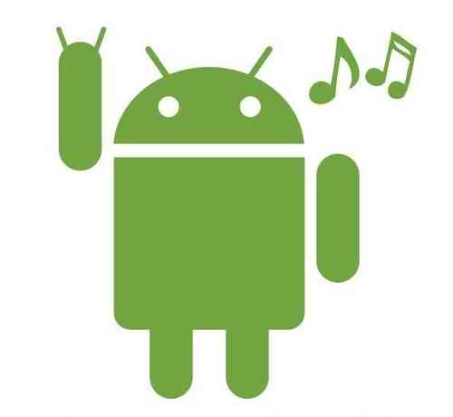 AndroidStickers.com Android Rocks Music