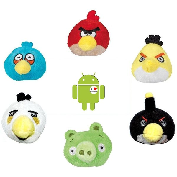 Angry Birds Plush Pencil Topper Plush