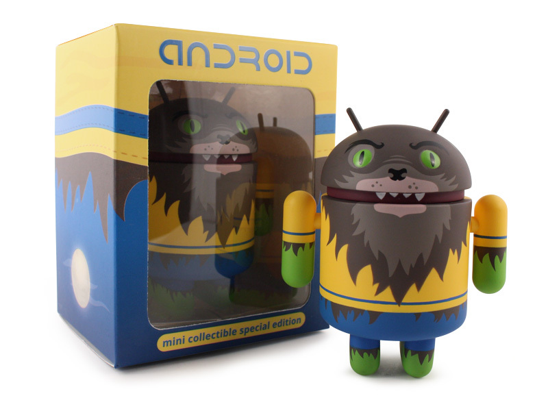 Andrew Bell Android Mini Collectible Special Halloween Edition 2012 Werewolf