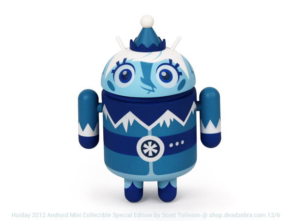 Christmas Holiday Special Edition 2013 Android Mini Collectible