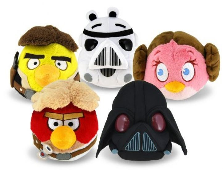 Angry Birds Star Wars 20cm Dolls