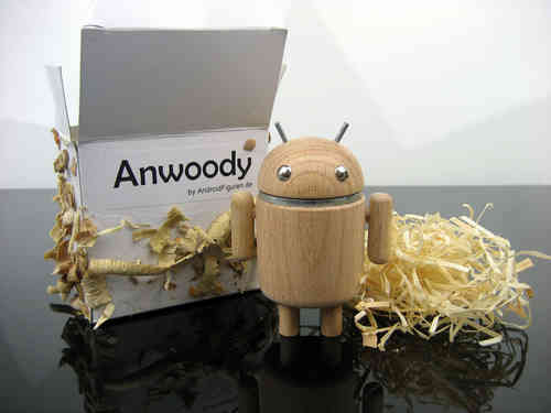 AndroidFiguren.de Anwoody Buche Bio Android made by Nature handgedrechselt