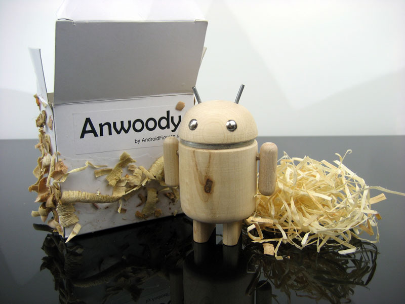 AndroidFiguren.de Anwoody Ahorn Bio Android made by Nature handgedrechselt