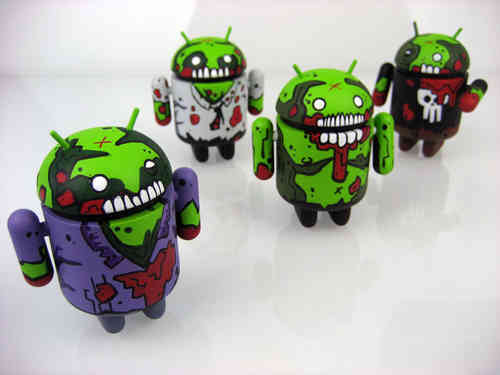 Mostly Harmless Undead Custom Android Calvin by Paul Robinson