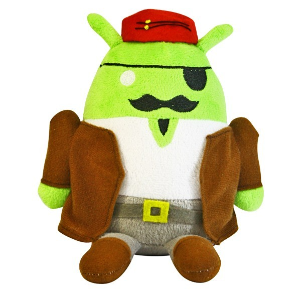 Cruzerlite Android Pirate Plushie