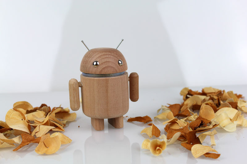 AndroidFiguren.de Anwoody Meech Beech Bio Android made by Nature curved out by hand