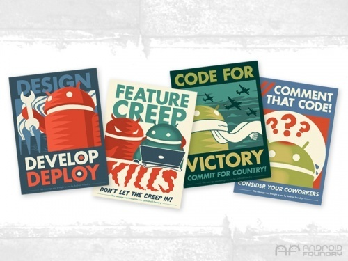Android Foundry Android Prints