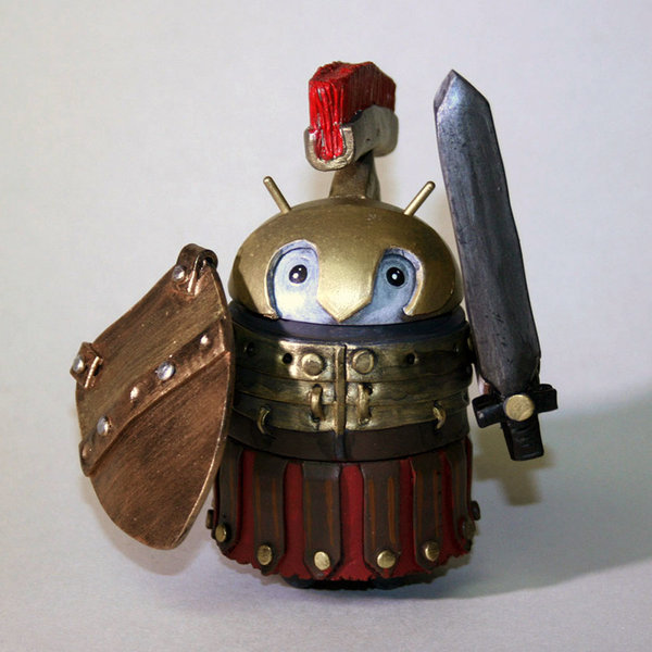 Custom Android Gladiator by Carmelyzed Droids