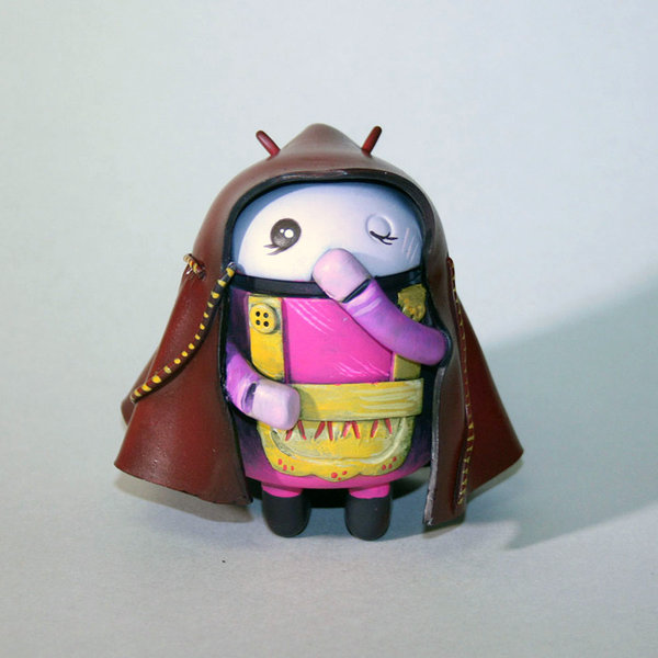 Custom Android  The Little Red Riding Droid by Carmelyzed
