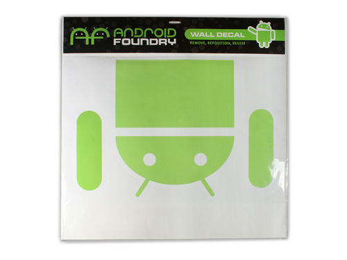 Drop Down Android Wall Decal