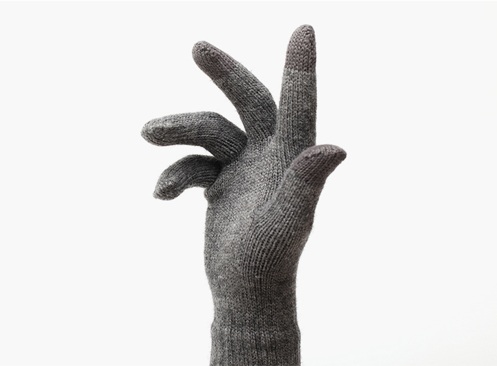 Woolen XiaoMi touch gloves