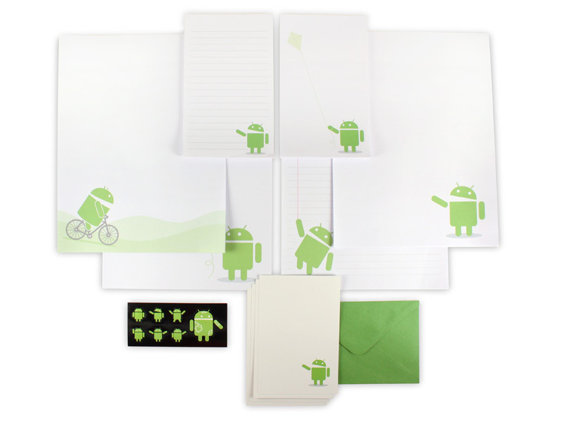 Android Foundry Stationary Set Andy's Day Out