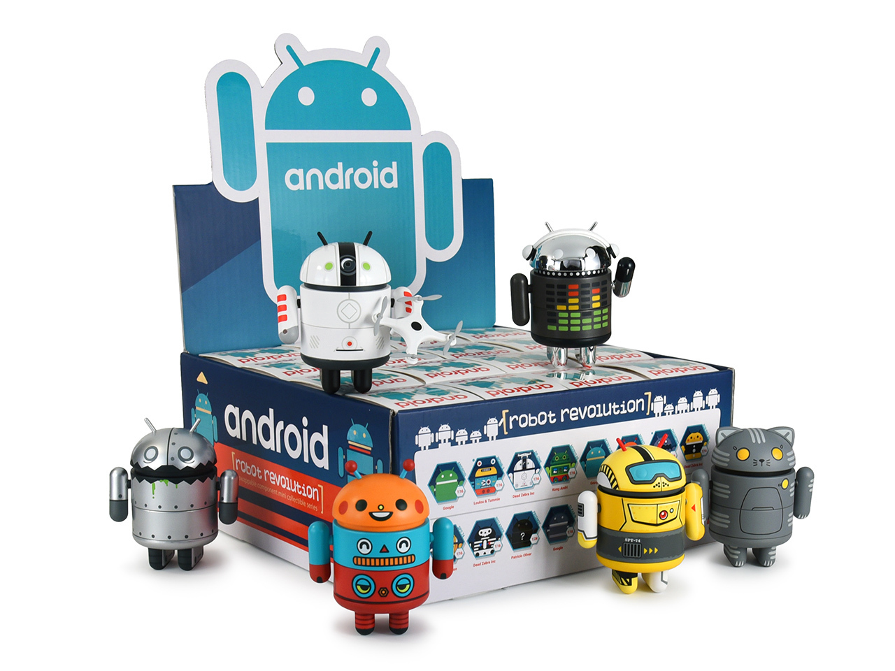Android Collectible Mixed Series 07