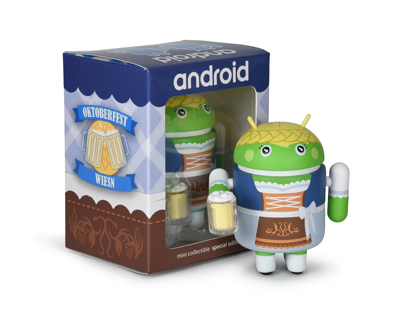 Android Mini Collectible Oktoberfest Wiesn 2019 weiblich